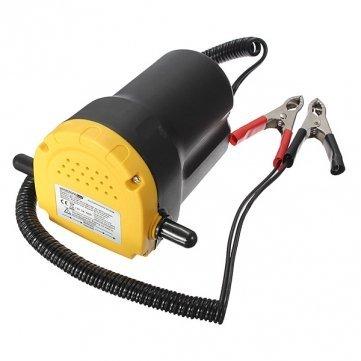 8milelake UKFBA Pompe à vidange d'huile/diesel pour voiture/moto/véhicule 12 V