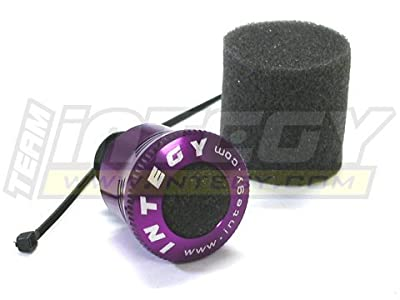 Integy RC Hobby C22474PURPLE High Flow Air Filter for 1/16, 1/18 Size Nitro Engine