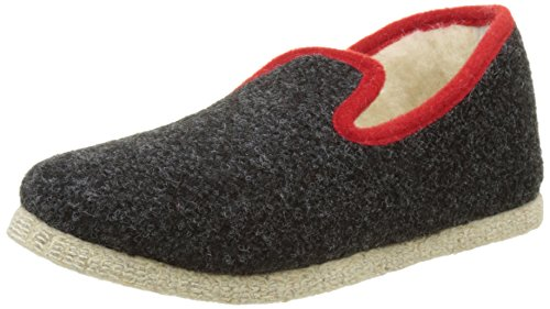 Rondinaud Calmont, Chaussons Bas Mixte Adulte Gris (06 Anthracite)