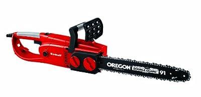 Einhell Elektro Kettensäge RG-EC 2240 (2,2 kW, 375 mm Schnittlänge, 16,5 m/s Schnittgeschwindigkeit, OREGON-Qualitätsschwert und -Kette) von Einhell