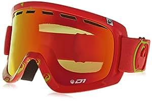 Dragon Goggles 722-4287 Tango Icon Red D1 Tangolcon Visor Goggles Lens Mirrored