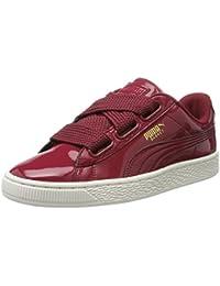 Puma Basket Heart Patent, Sneakers Basses Femme