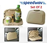 Speedwav Foldable Car Travel Dining Tray...