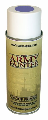 Army Painter 3021 - Primer Spray per dipingere Miniature, Colore: Grigio