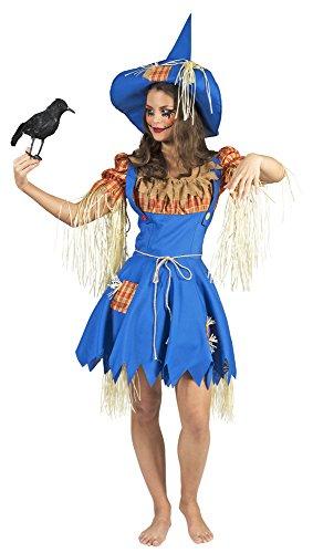 Vogelscheuche Henriette Kostüm für Damen Gr. 40 ()