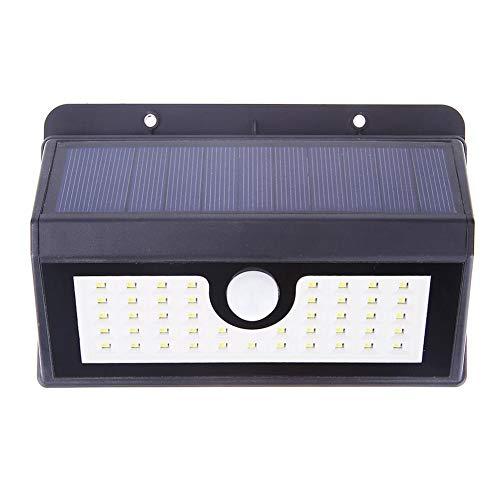 ZOLMAX 45-LED Solar Motion Sensor Light Human Infrared PIR Motion Sensor Light Wall Mounted Lamp Security Night Light Waterproof for Garden Yard Walkway (1 Pack)