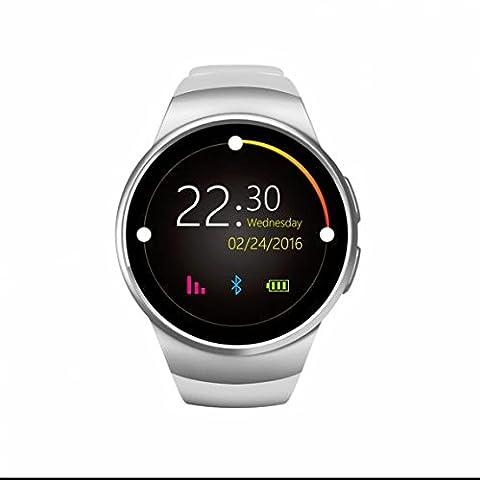 Smartwatch,Sport Smartwatch mit SIM / TF Karte Slot,Aktivitätstracker mit Herzfrequenz-Monitor,Anti-verloren