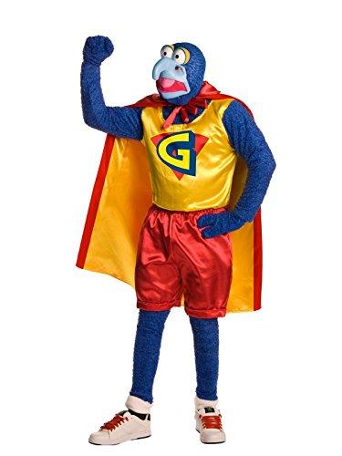 Super Gonzo Deluxe Herrenkostüm aus Die Muppets, -