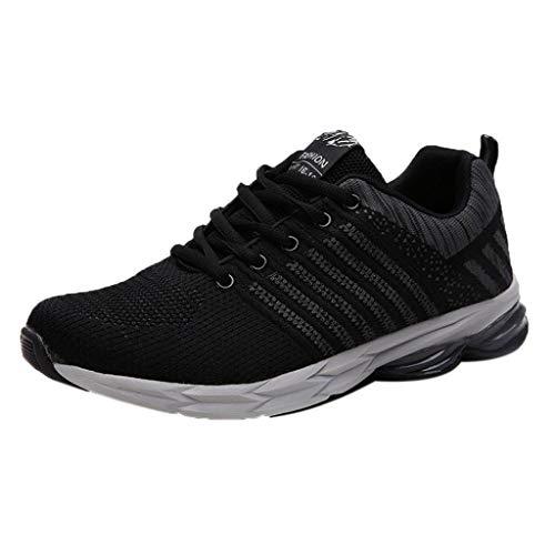 Quaan Herren Sportschuhe Schuhe Gym Freizeitschuhe Sportschuhe Sneaker Atmungsaktive Turnschuhe Wanderschuhe Ultra-Light Mesh Running Wanderschuhe Outdoorschuhe