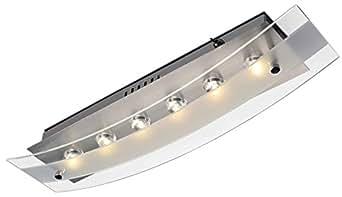 Esto Polaris/Applique murale/6x 1W LED/aluminium