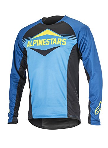 Alpinestars Herren Mesa Long Sleeve Jersey Medium Royal Blue Bright Blue (Alpinestars Long Sleeve Shirt)