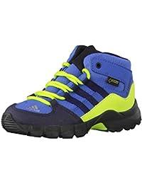 official photos af6a4 7eacd Adidas Terrex Mid GTX, Scarpe da Ginnastica Basse Unisex-Bimbi, Blu (Traroy ConavySslime 000),…