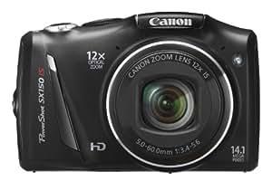 Canon Powershot SX 150IS Appareil photo numérique 14,1 Mpix Noir