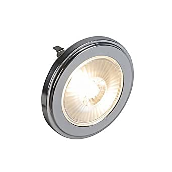 QAZQA Ampoule G53 AR111 LED 10W 800LM 3000K dimmable / Lampe de lecture
