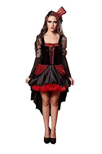 raten Uniformen Halloween Versuchung Set Cosplay Kostüme Spiel Uniformen Erogen (Farbe : Schwarz, Größe : M) (Home Piraten Kostüme Frauen)