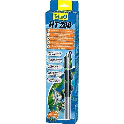 Tetra HT 200 W Reglerheizer, leistungsstarker Aquarienheizer zur Abdeckung unterschiedlicher Leistungsstufen mit Temperatureinstellknopf
