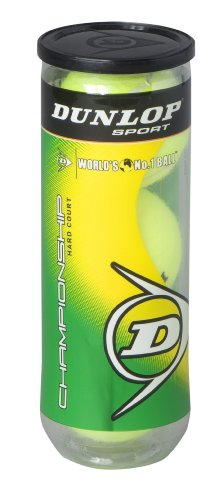 DUNLOP Sports Championship Balles de Tennis, 0, Hard Court