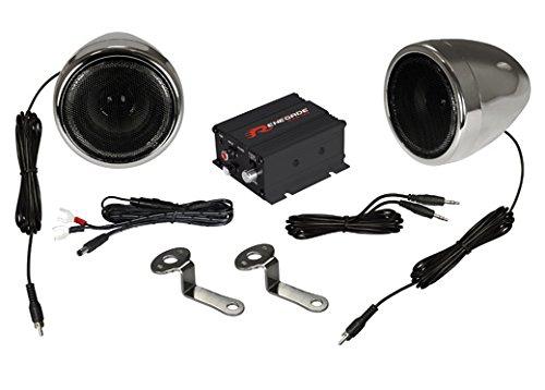 Renegade rxa100C Lautsprecher für MP3& iPod schwarz, silber