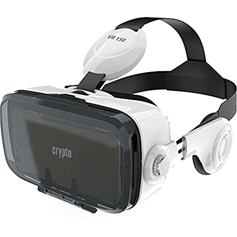 Crypto VR 150 Virtual Reality Headset 3D Glasses with Adjustable