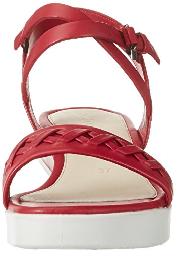Ecco Damen Touch Sandal Plateau Rot (1466CHILI RED)
