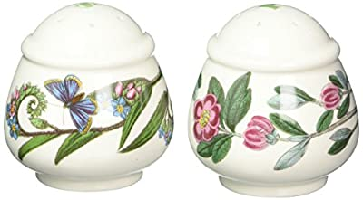 Portmeirion Botanic Garden - Salt & Pepper (Romantic shape) by Portmeirion