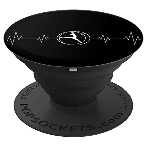 Rhönrad Turnen   Herzschlag für alle Turner/Akrobaten - PopSockets Ausziehbarer Sockel und Griff für Smartphones und Tablets