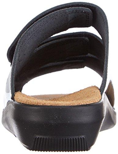 Gevavi  3001 BIGHORN SLIPP., Mules femmes Noir - Schwarz (schwarz(zwart lak) 90)