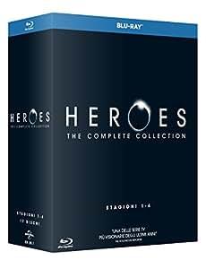Heroes - Stagioni 1-4 (Boxset) (17 Blu-Ray)