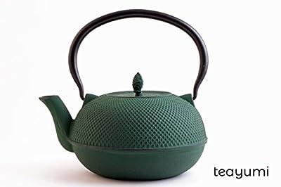 teayumi–Théière en fonte Arare vert 1,8l