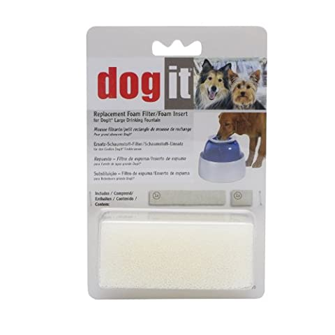 Dogit Replacement Foam Insert for Fresh & Clear Large Dog Fountain - 2-Pack