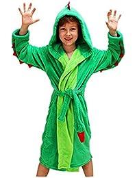 Woneart Albornoz Niña Camisones Novedad Disfraz de Peluche Animales Ropa De Dormir con Capucha Baño Costume Halloween Carnaval Pijamas Batas para bebé chicas chicos niños