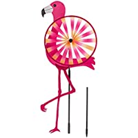 Jardín Conector Wind Cilindro de flamenco rosa