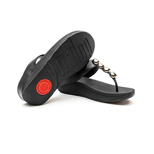 FitFlop Rola, Tongs Femme, Various Black