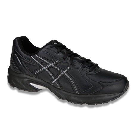 Asics Gel-Blackhawk4 SL Chaussures de Sport En Cuir-Femme Multicolore - Black/Silver/Black