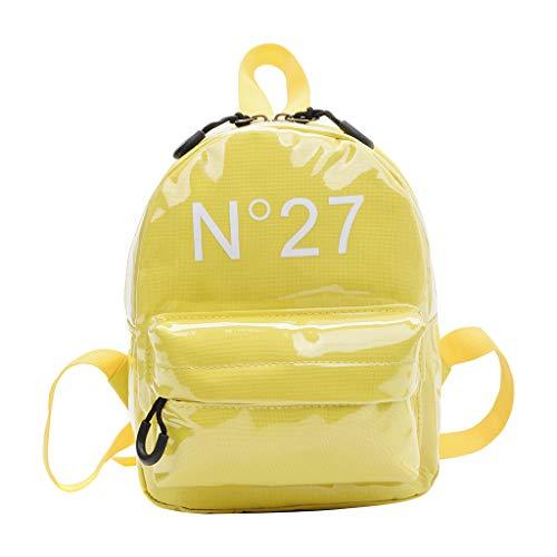 Mitlfuny handbemalte Ledertasche, Schultertasche, Geschenk, Handgefertigte Tasche,Kinderrucksack New Simple Parent Bag Kindergeldbeutel-Set für Kinder Casio Canon Eos