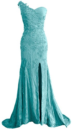MACloth - Robe - Moulante - Sans Manche - Femme Turquoise - Turquoise