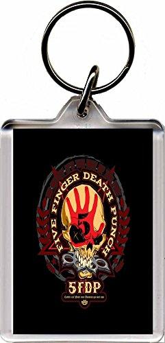 5FDP - Five Finger Death Punch Portachiavi F