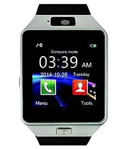 Samsung Galaxy ON 7 COMPATIBLE Bluetooth Smart Watch Phone With Camera and Sim Card Support With Apps like Facebook and WhatsApp Touch Screen Multilanguage Android/IOS Mobile Phone Wrist Watch Phone with activity trackers and fitness band features by MOBIMINT