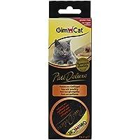 GimCat patentado Deluxe con aves (Pack de 8, 8x 63g)