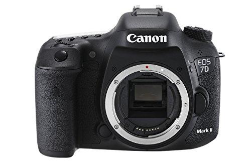 Canon EOS 7D Mark II Boîtier d'appareil-Photo SLR 20.2MP CMOS 5472 x 3648pixels Noir - Appareils Photos numériques (20,2 MP, 5472 x 3648 Pixels, CMOS, Full HD, 910 g, Noir)