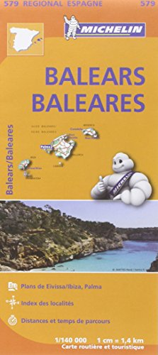 Carte Baléares Michelin par Collectif MICHELIN