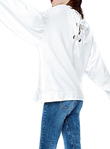 Felpe Pepe Jeans Lena Bianco Bianco