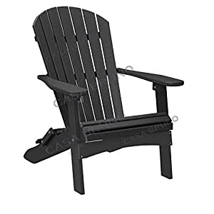 casa bruno original oversized alabama adirondack chair klappbar aus recyceltem polywood hdpe. Black Bedroom Furniture Sets. Home Design Ideas