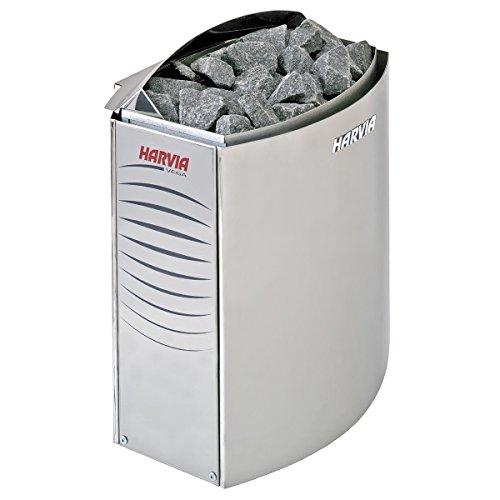 Harvia Vega Saunaofen - BC90E 9,0 kW wird separates Steuergerät benötig, Edelstahl