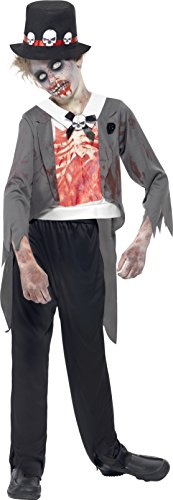 Smiffys - costume carnevale halloween travestimento sposo bambino fantasma zombie