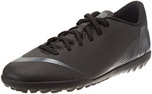 Nike Vapor 12 Club TF, Chaussures de Fitness Mixte Adulte, Noir Black 001, 42 EU