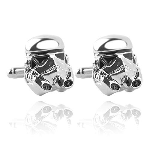 Manschettenknöpfe Star Wars Galactic Empire Imperial Stormtrooper Emaille Maske Kostüm - Star Wars Requisiten Kostüm