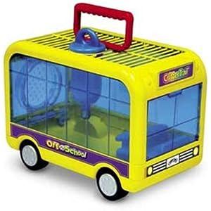 KAYTEE CritterTrail Spielzeug Off to school klein Animal Pet Carrier