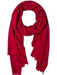 Prettystern - Pashmina foulard 100% laine 200 cm x 65 cm amende & soft XXL discrets Leo pattern - beaucoup de couleurs