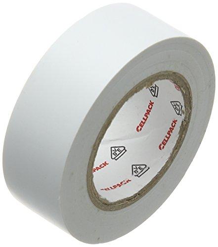 cellpack-no-128-dimensions-10m-x-19mm-x-015mm-longueur-x-largeur-x-epaisseur-blanc-ruban-disolation-